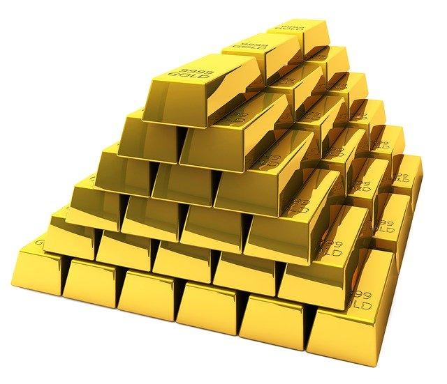 gold. bank deposit