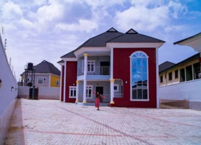 mercy aigbe house
