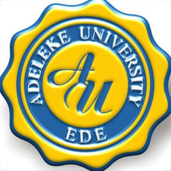 adeleke university logo