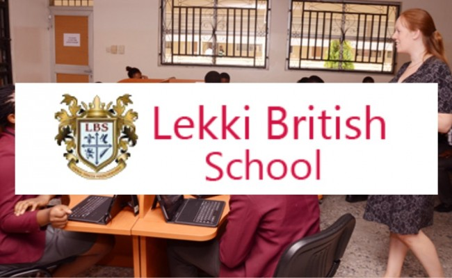 Lekki british school logo