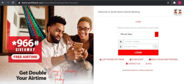 zenith bank account statement