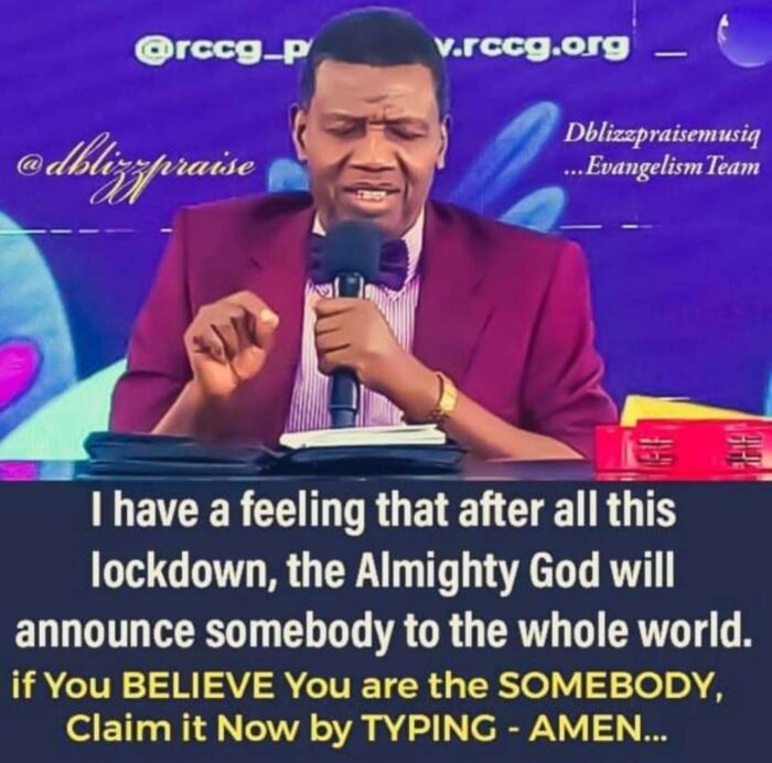 pastor adeboye RCCG Sunday school manual