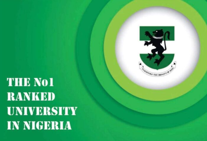 UNN University Of Nigeria Nsukka number 1 ranked university in nigeria