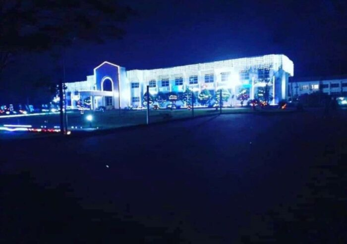 UNN University Of Nigeria Nsukka at night