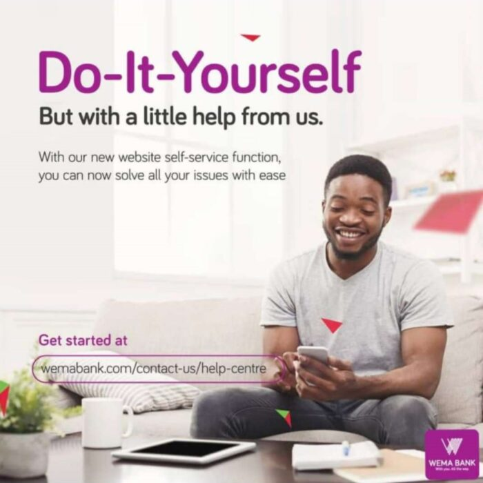 wema bank ads