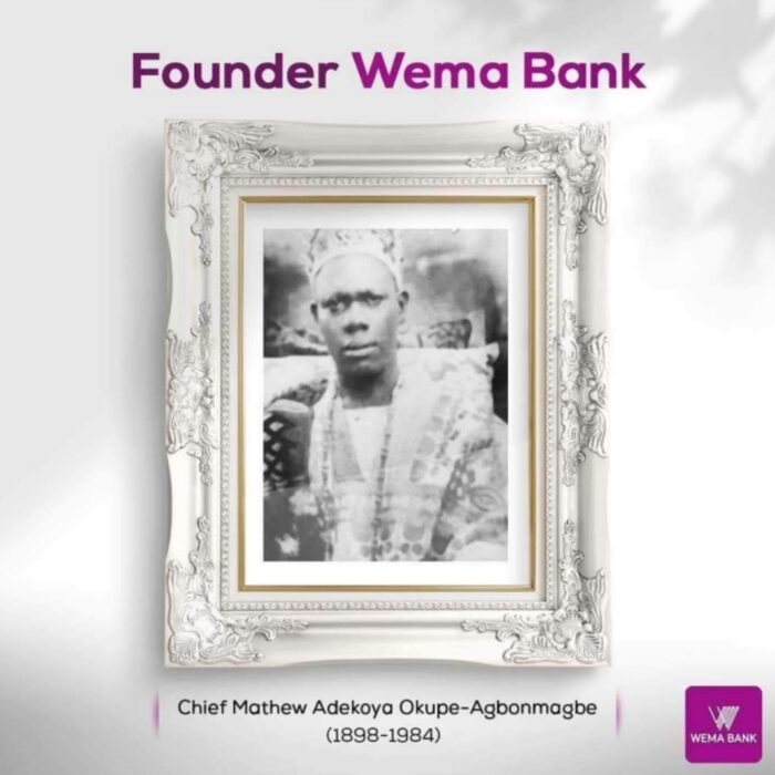 wema bank founder