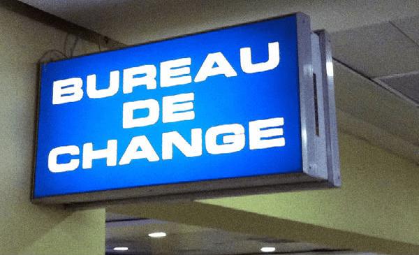 Bureau-de-change