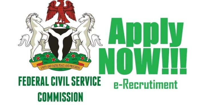 civil service commission nigeria recruitment