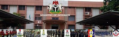 ministry of interior Nigeria