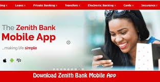 Zenith Banking App.