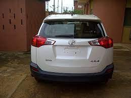 Toyota rav4 2014 price in nigeria