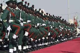 Nigerian Military School NAUB Students.