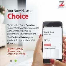 Zenith Bank OTP
