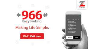 Zenith Mobile Banking USSD Code.