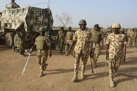 Nigeria Military School. Soldiers.