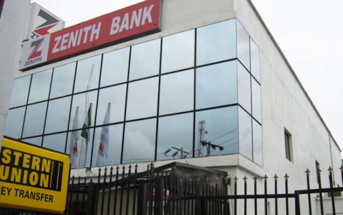 The mighty Zenith Bank Building.