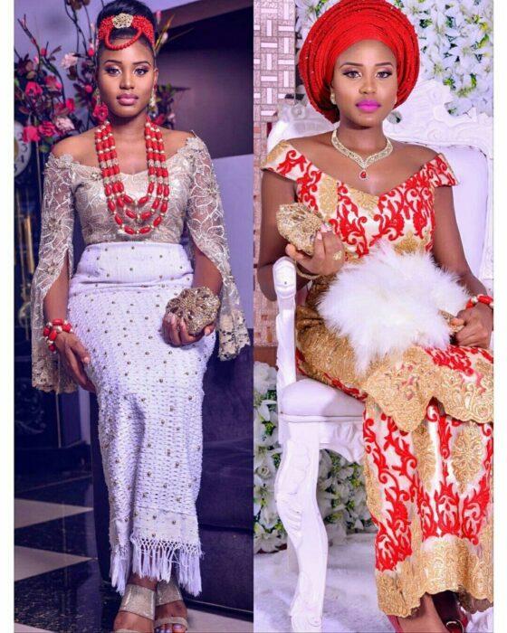 Igbo Traditional Wedding Attire For Bride