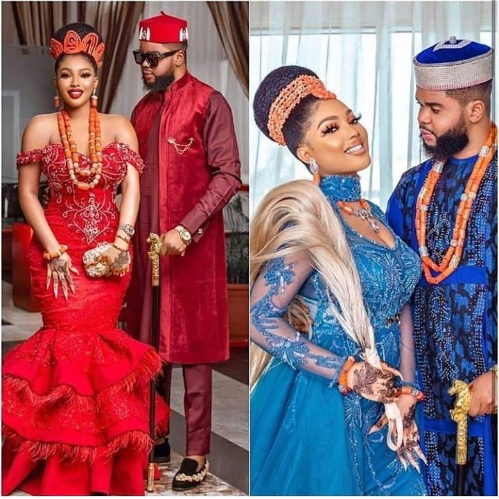 Igbo Traditional Wedding Attire For Couples