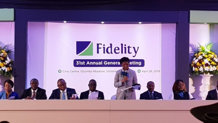 Fidelity Bank Online. Annual celebration.