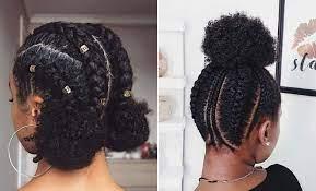 Nigerian Virgin Hairstyle. All-Back.