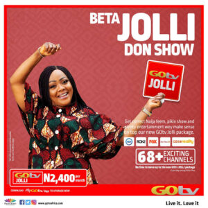 Gotv jolli package. Plus channel list and price