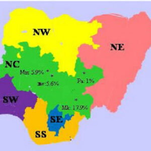 How many geopolitical zones in nigeria. Some vital facts