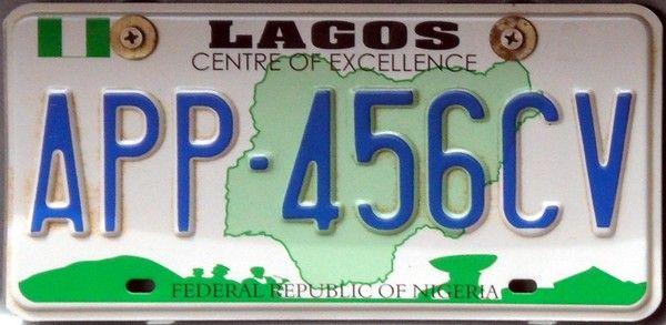 plate number registration