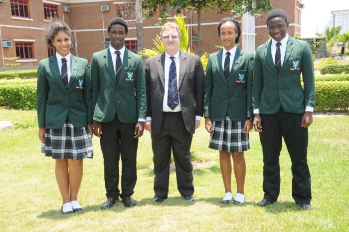 British International School,. Students