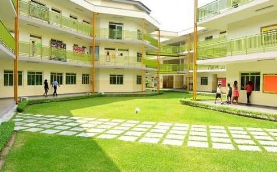 British International School. The School Enviroment.