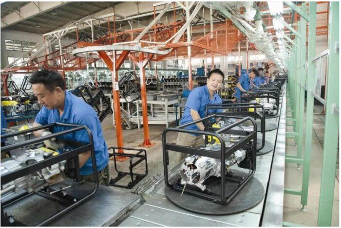 Elepaq parent company factory floor