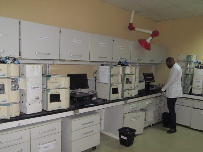 NAFDAC Laboratory