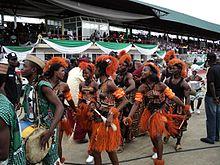 Akwa ibom dancers