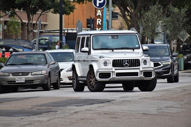 Mercedes G-Wagon for her four Sons